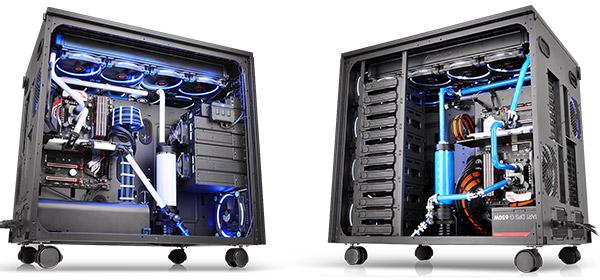 2つのシステムを構築可能なデュアルチャンバー構造採用のフルタワー型ケースCore W200