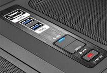 ファンコントローラ、ファンLEDコントローラを搭載
