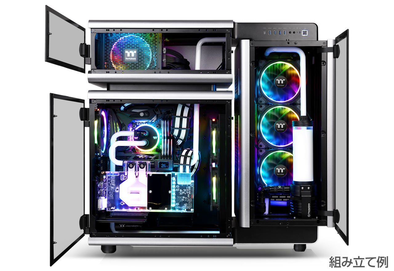 4dcf48aa67 LEVEL 20 Limited Edition | Thermaltake フルタワー型PCケース | 株式 ...