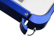 簡単装着可能なラッチ式レバーを搭載