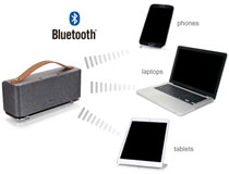 外部デバイス入力にも対応したBluetoothワイヤレススピーカー