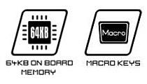 計20個のマクロキーを搭載、最大60通りのマクロが登録可能
