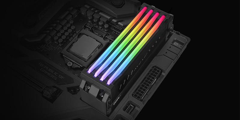 DDR4/DDR3メモリに対応