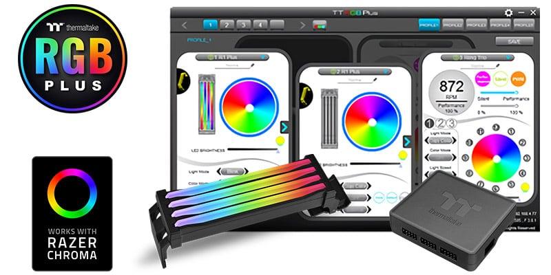 管理ソフトウェア「TT RGB PLUS」に対応