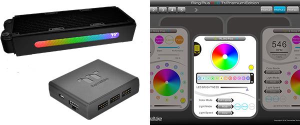 カラーカスタマイズ可能なRGB LEDパネルを搭載