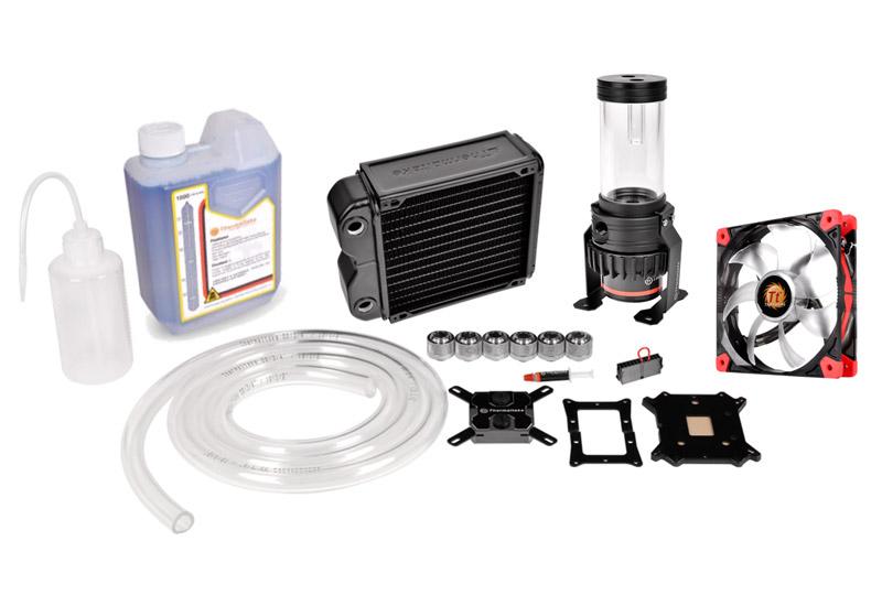 pacific rl140 d5 water cooling kit thermaltake カスタム水冷製品