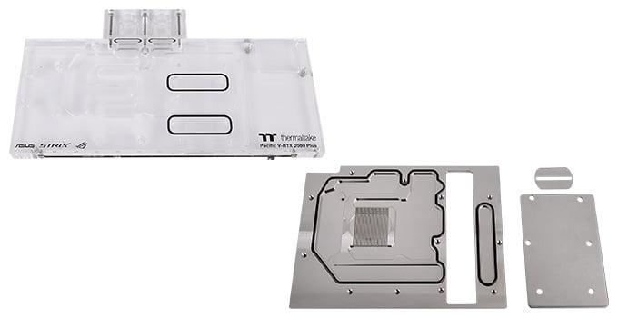 ASUS ROG-STRIX-RTXグラフィックボードに対応するウォーターブロック