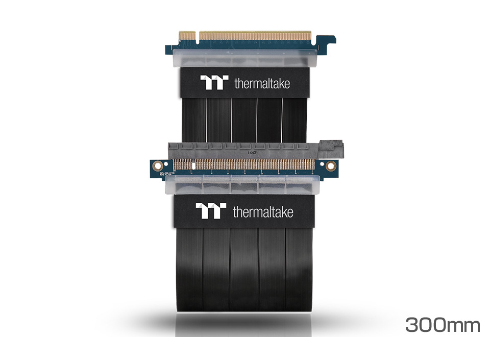 pci express extender cableシリーズ thermaltake ライザーケーブル