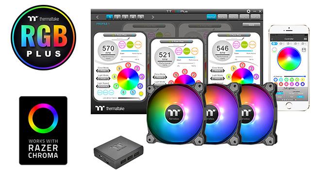 カスタマイズ可能なRGB LEDを搭載