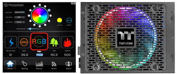 RGB LEDを装備するRiing Plus 14 RGBファンを搭載