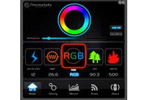 256色での発光に対応する静音140mmファン搭載