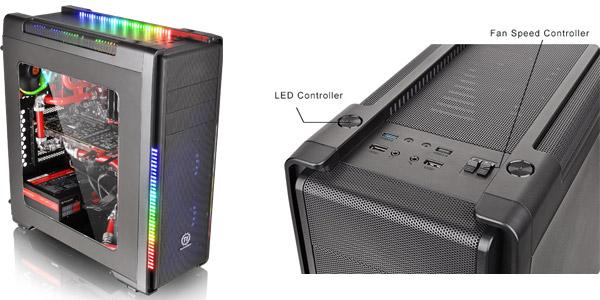 7色での発色に対応したLEDイルミネーション搭載
