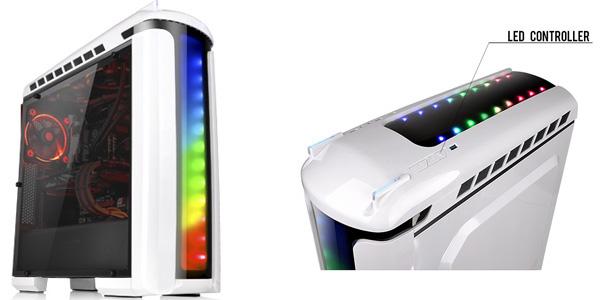 7色での発色に対応した大型LEDイルミネーション搭載