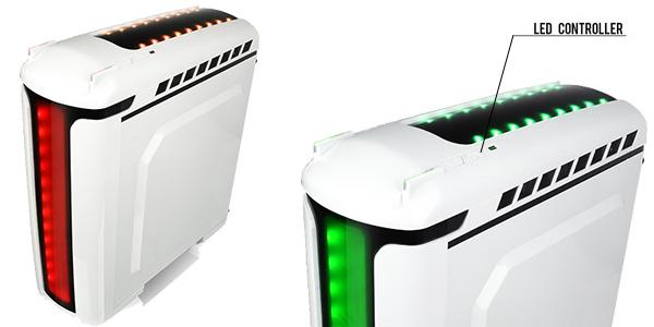 大型LEDイルミネーション搭載