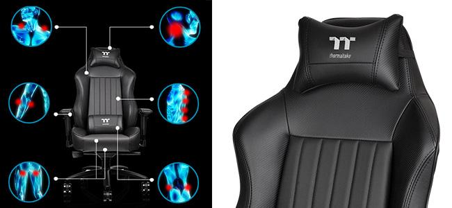 快適な座り心地を実現するエルゴノミック設計