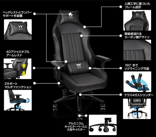 快適な座り心地と高い耐久性を実現したワイドサイズのゲーミングチェア