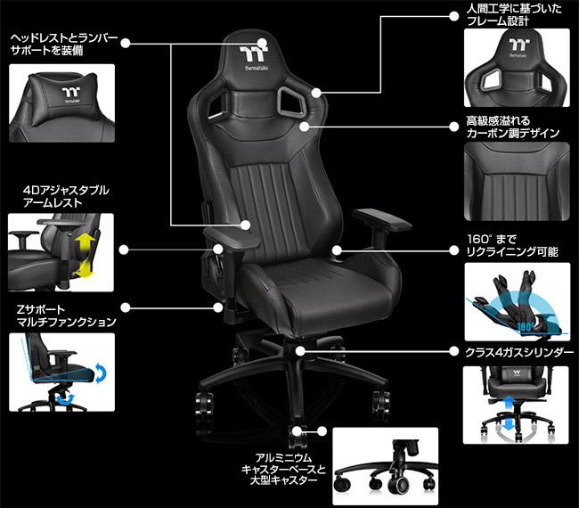 快適な座り心地と高い耐久性を実現したスタンダードサイズのゲーミングチェア