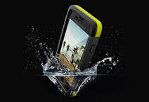防塵、防水に対応するIP68準拠のiPhoneケース