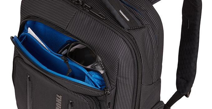 小物の整理や保護に最適なSafeZoneポケット