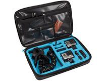 GoProカメラとアクセサリの収納が可能