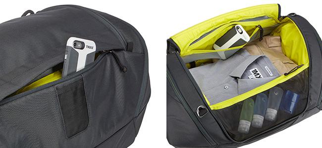 外部と内部両方からアクセス可能なサブポケット