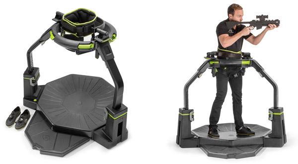 本格的なVR体験を実現する歩行型VRデバイス