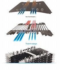 Twist Heatsink設計