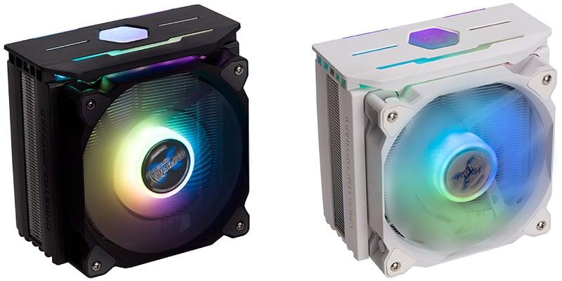 トップカバーとファンにRGB LEDを搭載