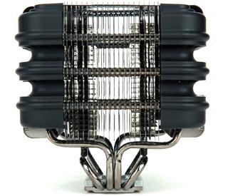 新開発の正六面体のヒートシンク構造