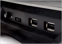 USBポートを1ポート内蔵