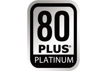 80PLUS PLATINUM 認定取得