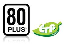 80 PLUS認証取得の高効率設計