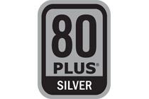 80 PLUS Silver認証取得の高効率設計