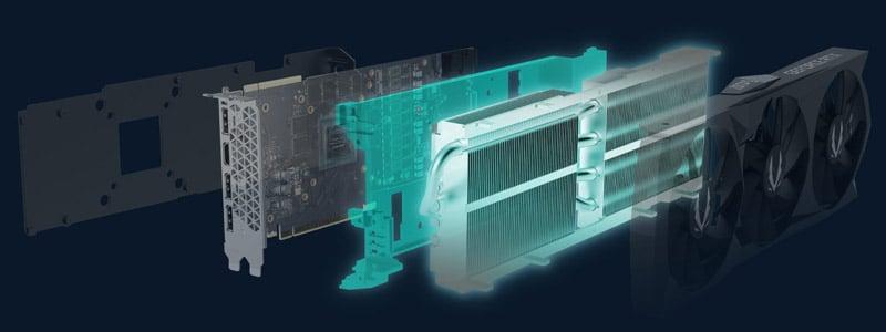 トリプルファン仕様のオリジナルクーラー「IceStorm 2.0」を搭載