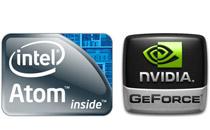 Atom最新プロセッサとGeForce GPUを採用