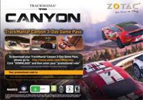 TrackMania 2 Canyon 3デイゲームパスを付属