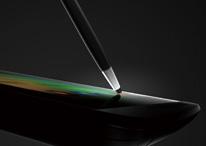 書き味も、描き味も滑らか、タッチペン標準装備
