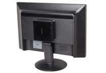 VESAマウンタ付属であらゆる場所へ設置可能