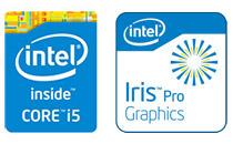 Iris Pro Graphics 5200を搭載