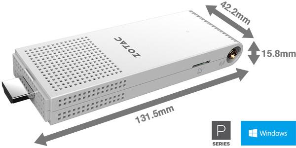 ポケットサイズのスティック型PC