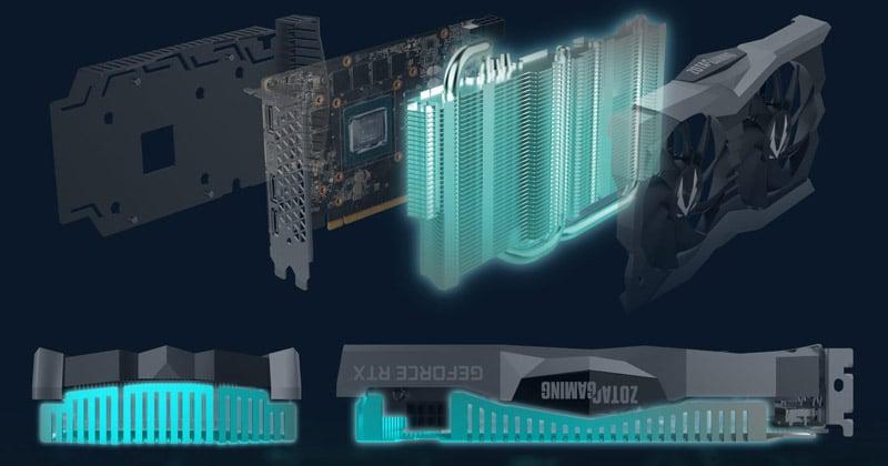デュアルファン仕様のオリジナルクーラー「IceStorm 2.0」を搭載