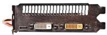 DVI×2とmini-HDMI×1 映像出力端子装備