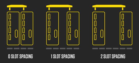 ボード間サイズが異なる3製品をご用意