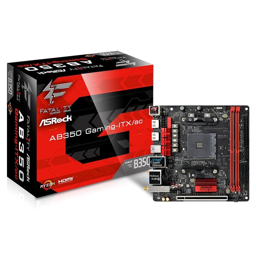AB350 Gaming-ITX/ac