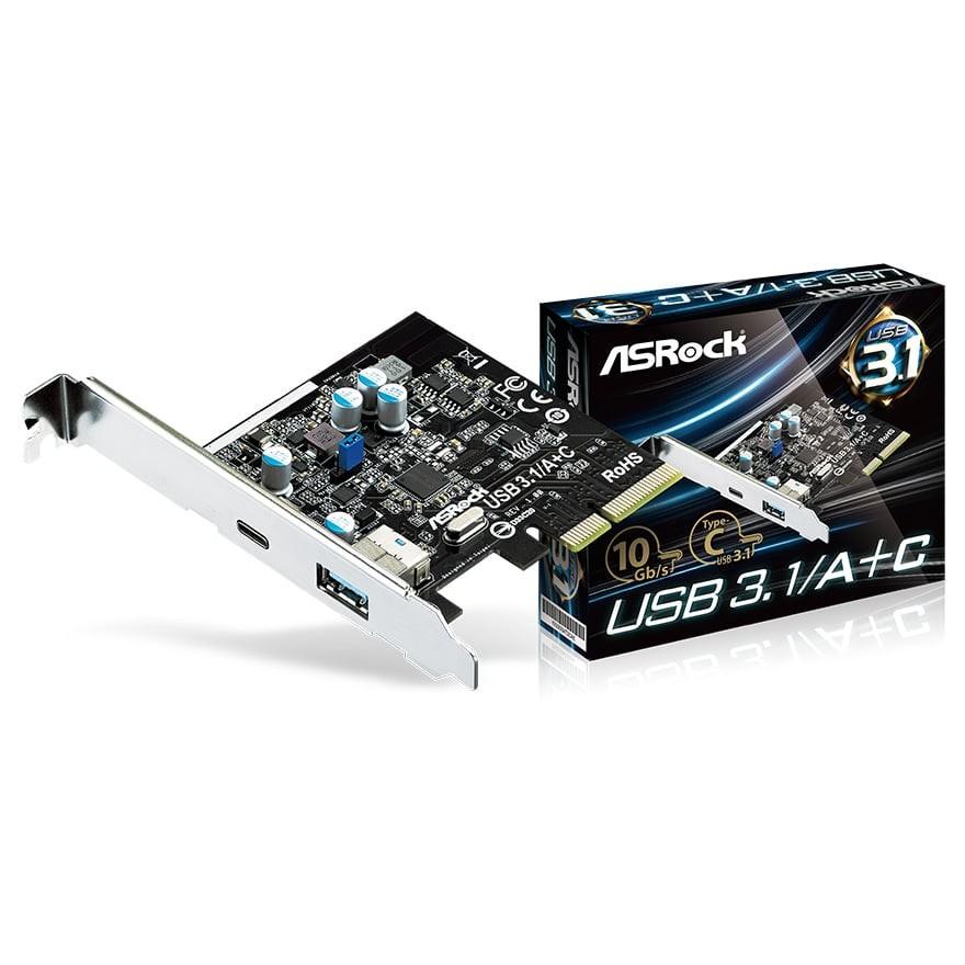 USB 3.1/A+C card
