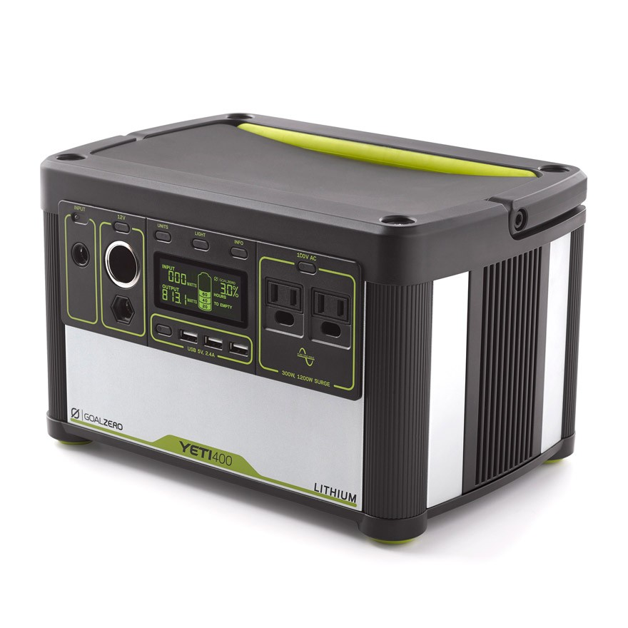 Yeti Lithium 400 (100V) Portable Power Station
