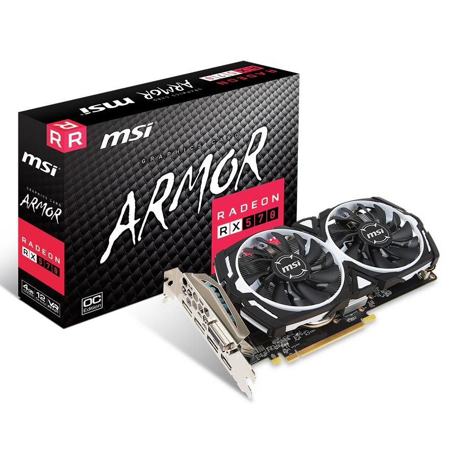 Radeon RX 570 ARMOR 4G OC