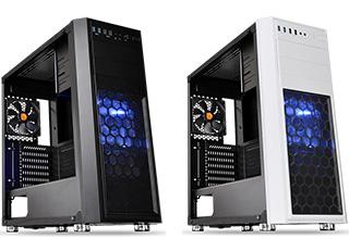 Versa H26 Black /w casefan、Versa H26 White /w casefan